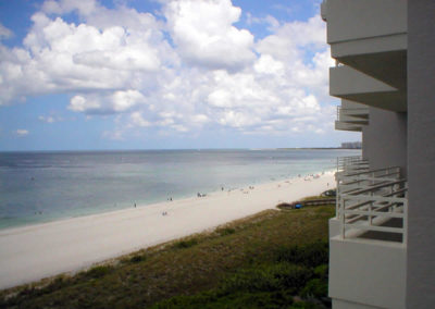 Relaxing views of the beach and Gulf
